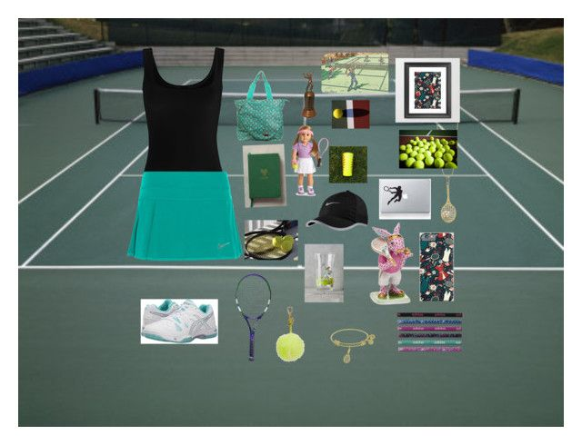 """Play tennis🎾"" by miray-yavuzcan on Polyvore featuring interior, interiors, interior design, ev, home decor, interior decorating, Twenty, NIKE, Asics ve adidas"