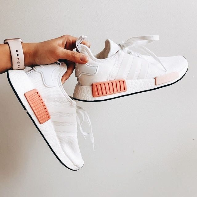 Womens Adidas NMD R1 Pink Cool Sneakers