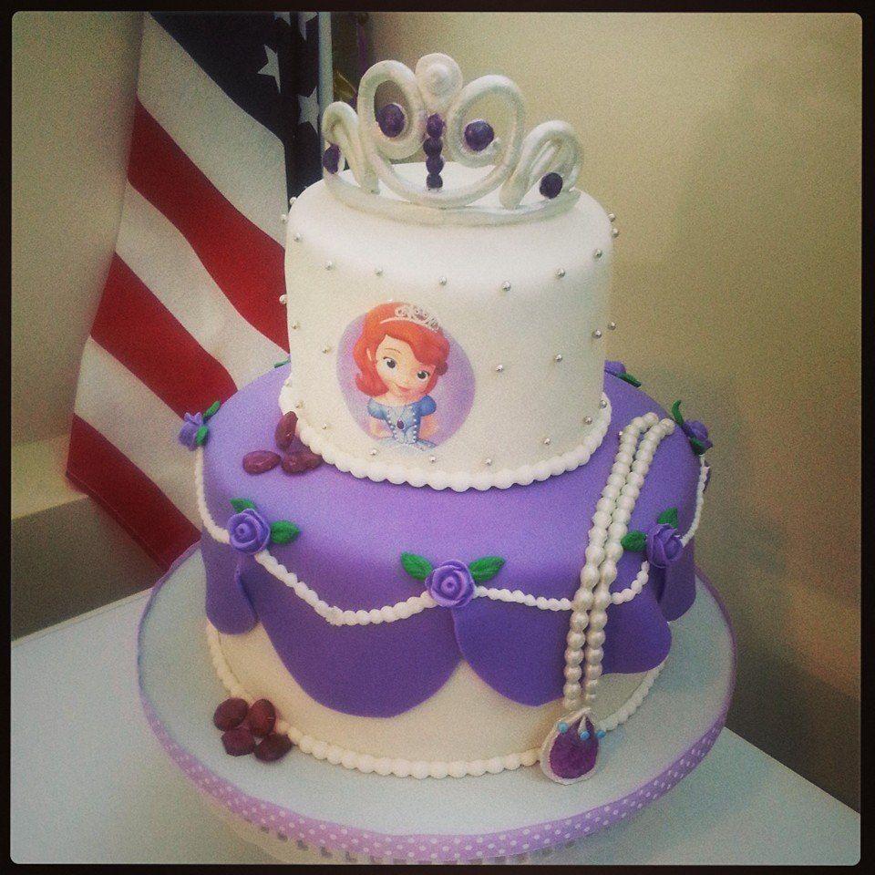 Sofia The First Birthday Cake Treats I Have Made Pinterest