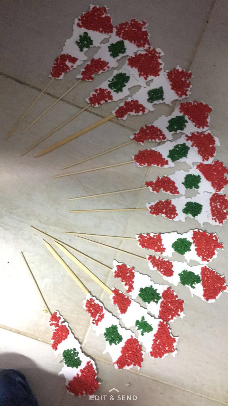 Lebanon Independence Day Crafts Preschool لبنان Independence Day Decoration Flag Crafts Independence Day Activities [ 1334 x 750 Pixel ]