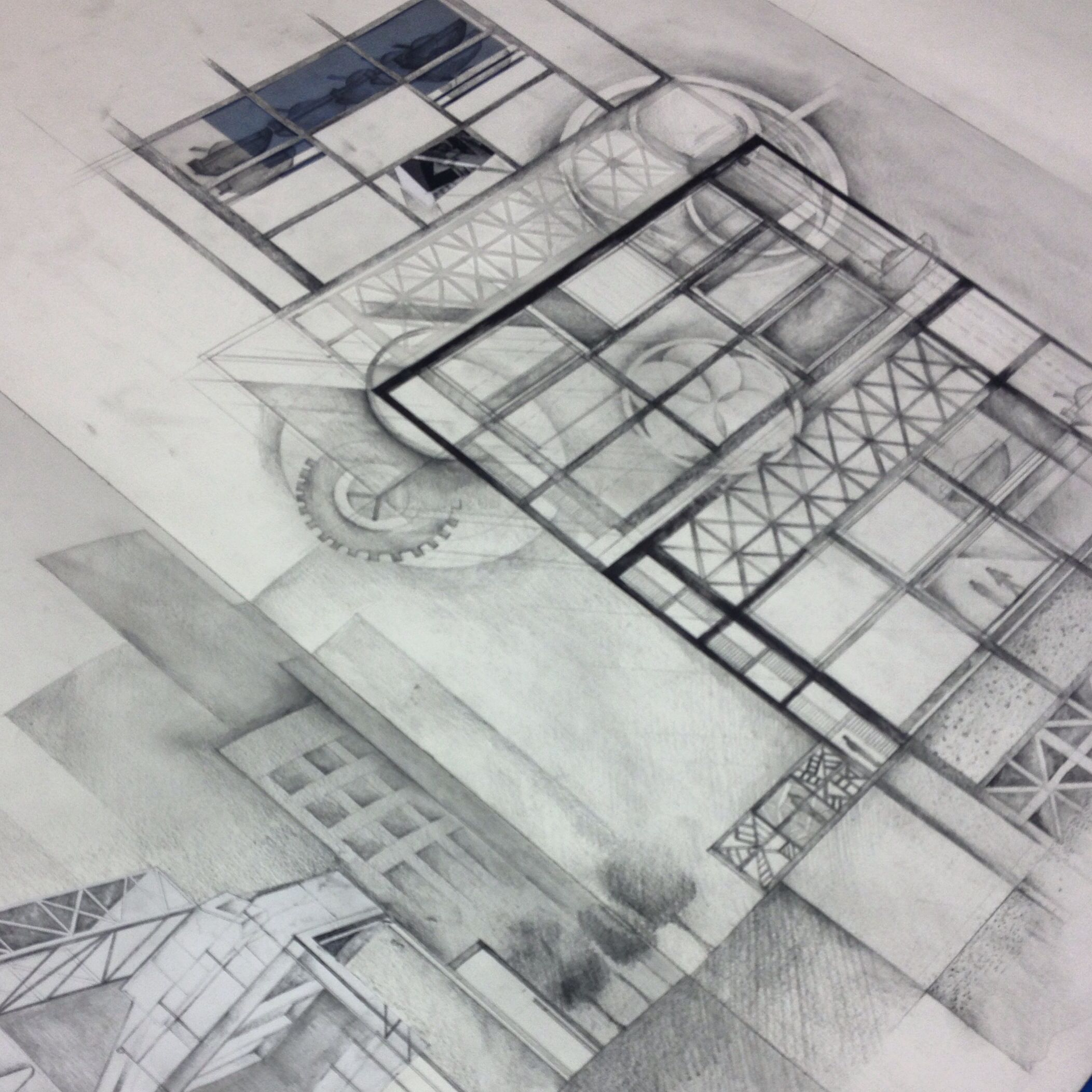 Ba Isd Interior And Spatial Design Ual Chelsea Student Project And Drawing Model Drawing Drawings Student Project