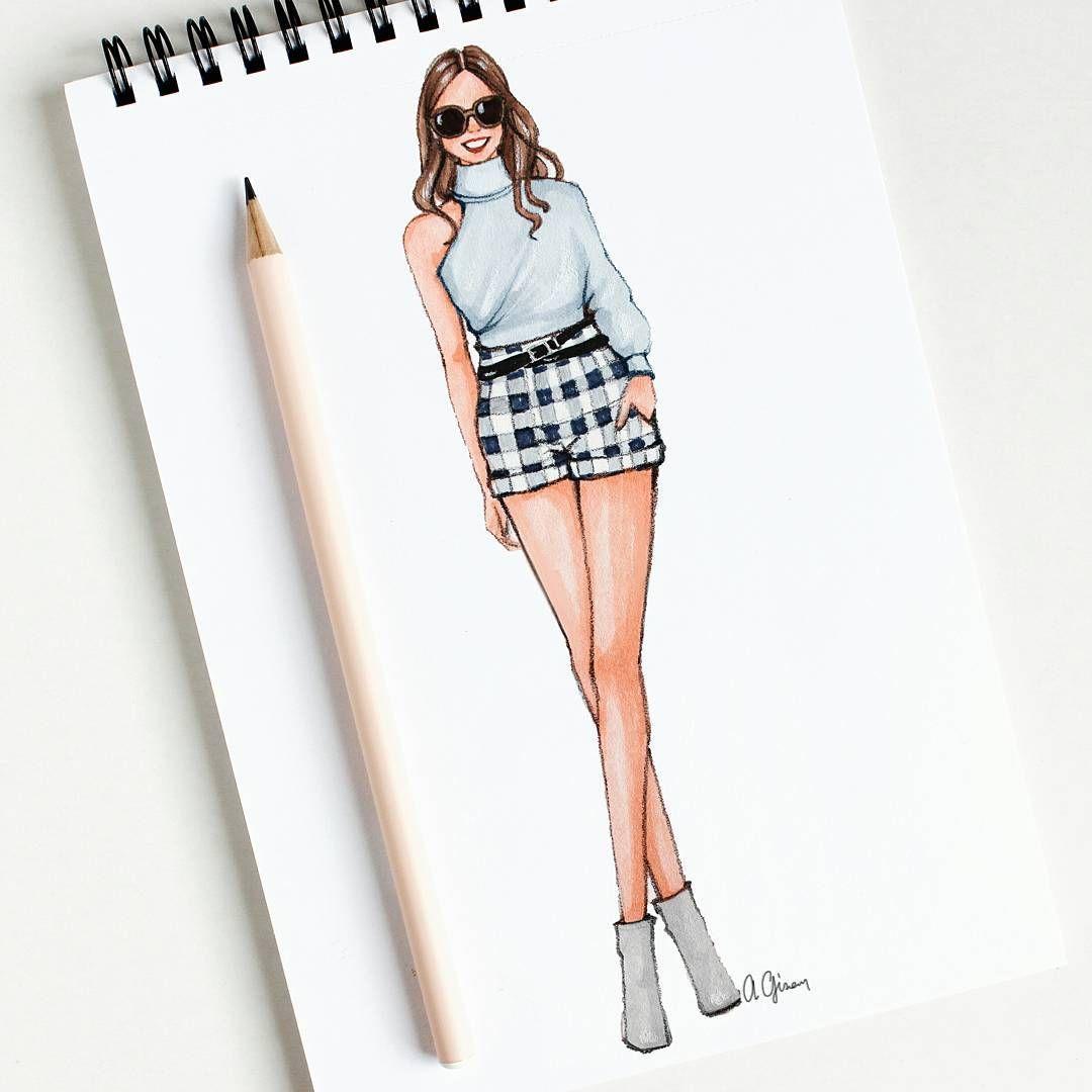 2 812 Likes 25 Comments Style Of Brush Gizemkazancigil On Insta Fashion Illustration Sketches Dresses Illustration Fashion Design Fashion Drawing Dresses
