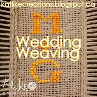 Wedding Weaving #iammarried