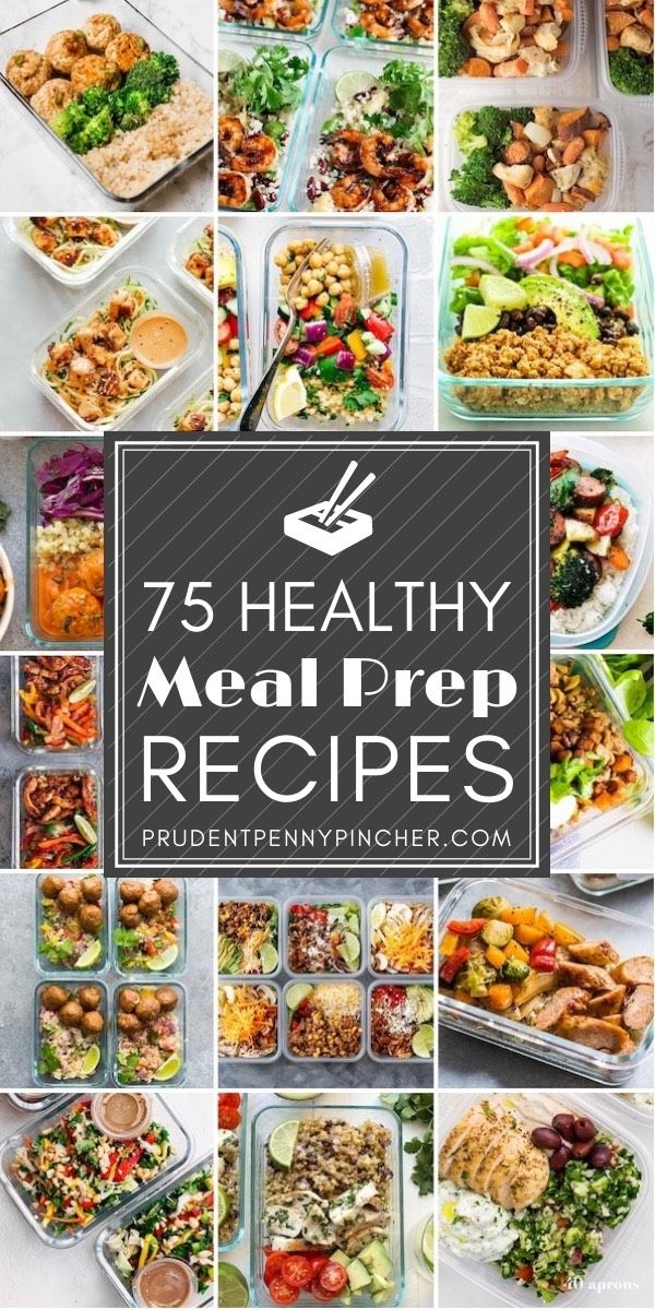 75 Healthy Meal Prep Recipes images
