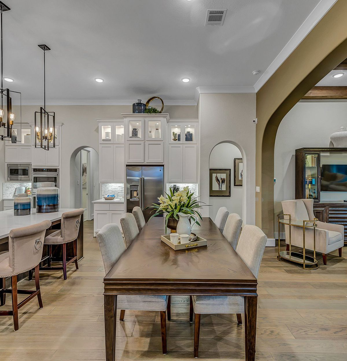 what's your favorite design element in this stunning open