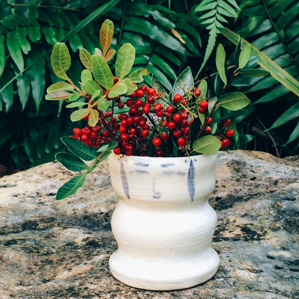 Kokeshi Vase こけし花瓶 Plant life, Green life, Plants