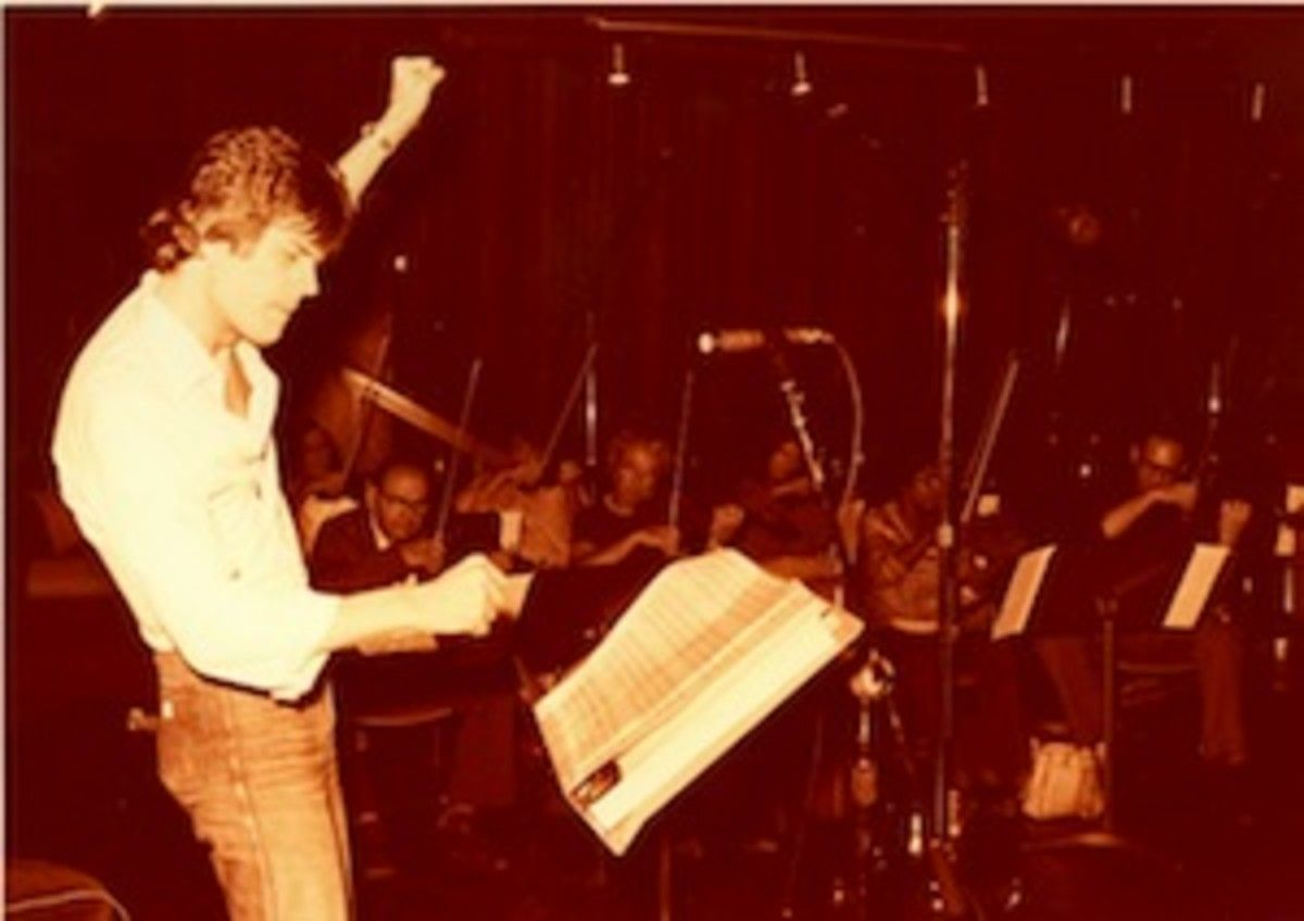 David Foster Producing Conducting A Session Late 1970s Session The Fosters Reign