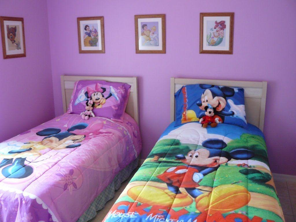 Minnie Maus Schlafzimmer Set Twin x Schlafzimmer Komplett
