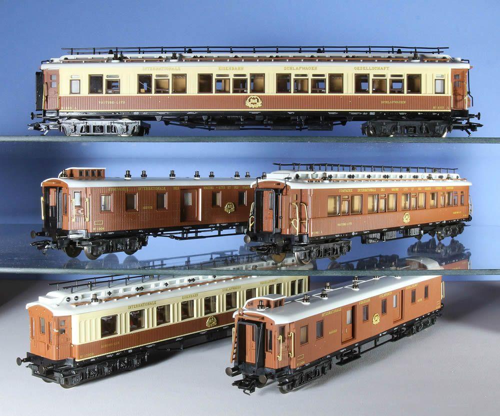 Set marklin dell 39 orient express model railroad layouts for Orient mobel