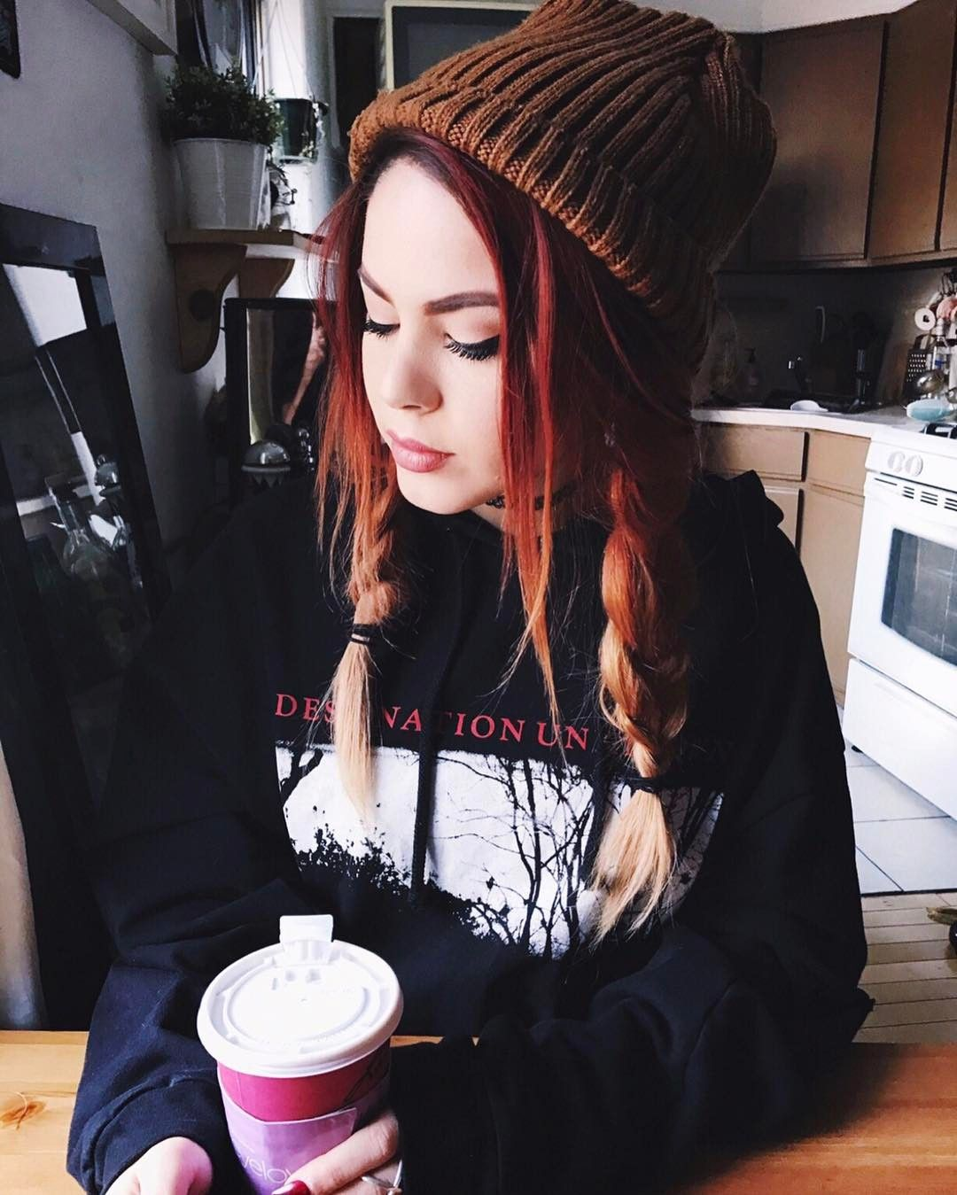 Gothic hipster Grunge hair, Hipster hairstyles, Hair styles