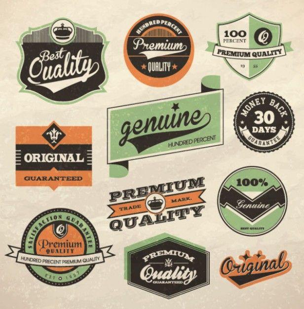 Download Retro Label Design Vector For Free Vintage Logo Design Retro Typography Vintage Labels