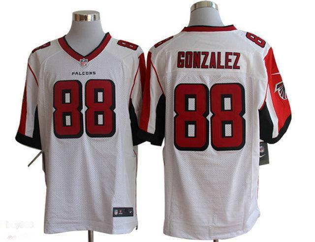 ... NFL Atlanta Falcons Nike Cheap Wholesale 2014 Regular Season Mens  Atlanta Falcons 88 Tony Gonzalez Nike White Elite Jersey ... 6eff21972