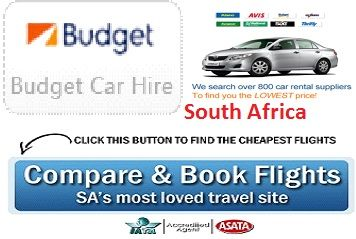 Get Best Budget Car Rental Services South Africa Budget Car Rental