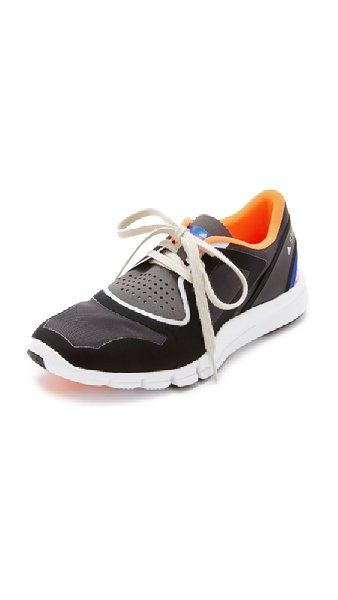 best cheap 25e7c 96d65 adidas by Stella McCartney Women s Alayta Sneakers, Core Black Pomegranate  Granite, 6 B(M) US