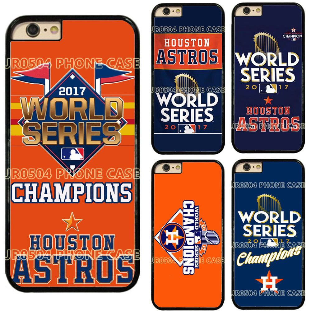 Houston Astros World Series Champions Phone Case Hard For