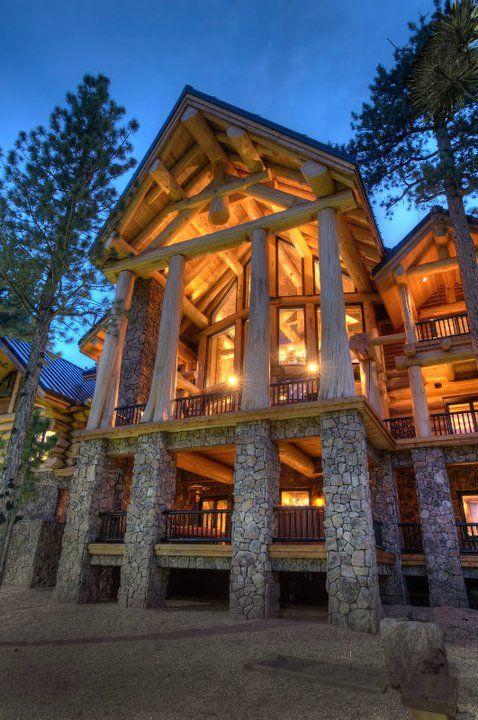 Фото канадских деревянных домов. Дома из массива кедра ...