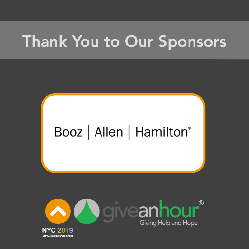 Booz Allen Hamilton Is Sponsoring Our Global Summit And Empowering People To Change The World They Are A Managem Technology Consulting Global Summit Best Self
