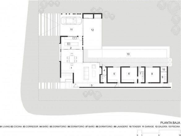 Resultado de imagen para planos casas minimalistas en ele for Vivienda minimalista planos