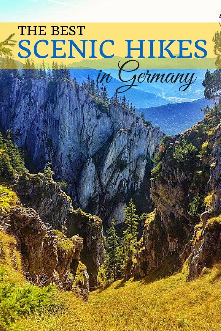 The best scenic hikes across Germany