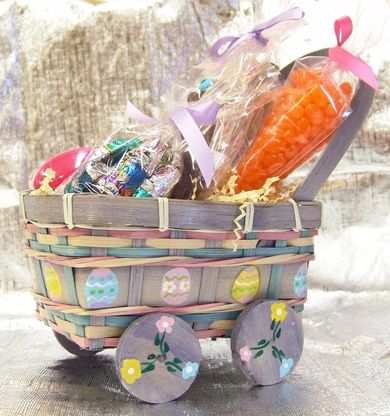 Little Purple Wagon Easter Basket Gourmet Chocolate This Adorable Country From