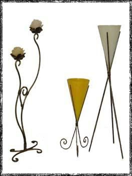 Objetos artesanais fabricados em ferro dão charme à decoração. Na foto, castiçais, da Artesanato em Ferro - Artesanato em Ferro/Divulgação