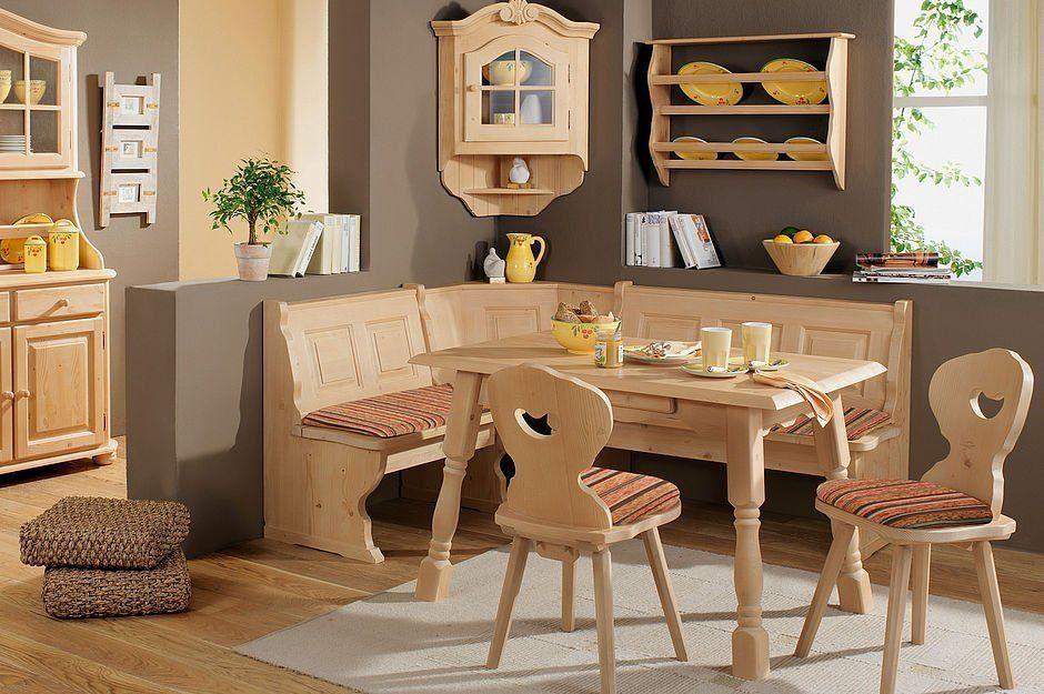 Amberg Fichte Massiv Rosner Gewachst Roter Bezug Schosswender Mobel Solid Wood Dining Chairs Breakfast Nook Furniture Furniture