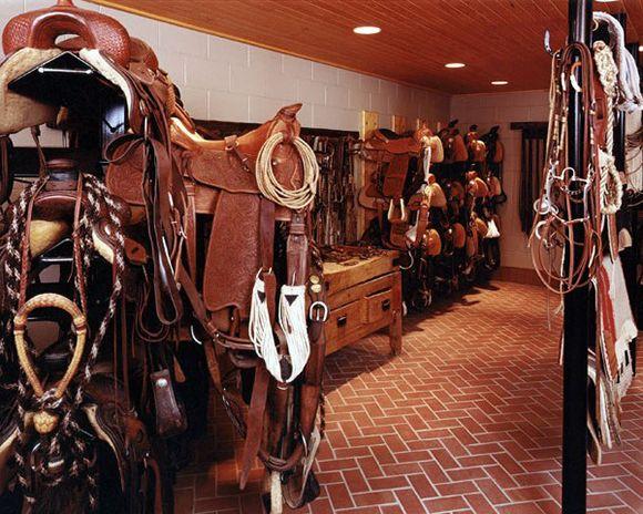 14 Tack Rooms We Adore Cowgirl Magazine Tack Room Horse Tack Rooms Tack Room Organization
