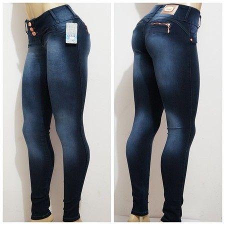 6d7fb06c847 Calça Jeans Latif Deerf Com Strech Levanta Bumbum