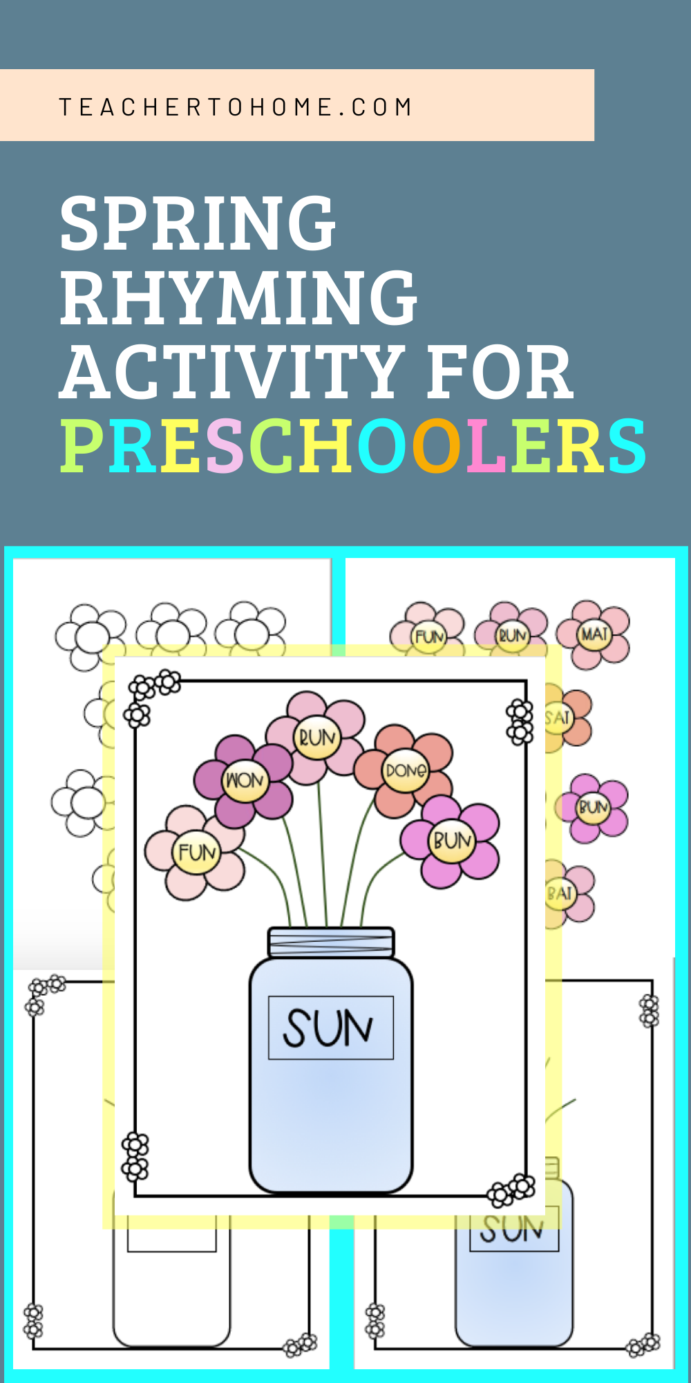 Rhyming Activities for Preschoolers at Home in 2020 ...