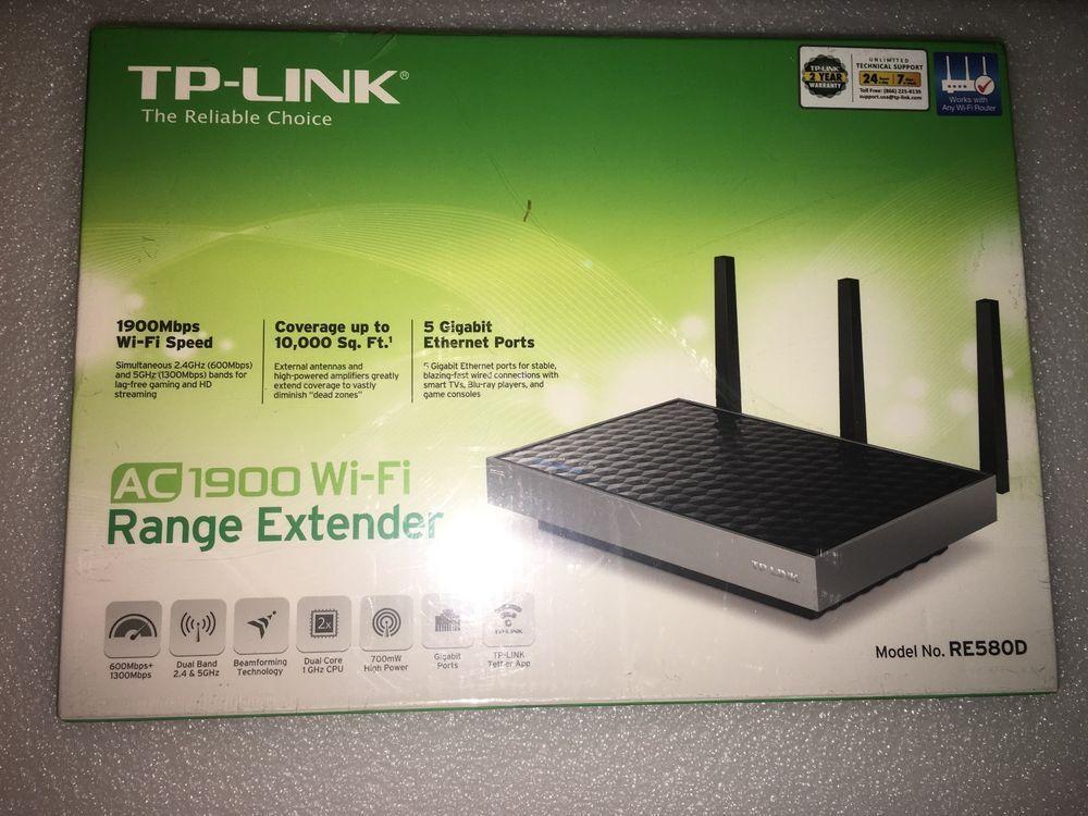 TP-LINK AC1900 Wireless Range Extender  RE580D  AC1900