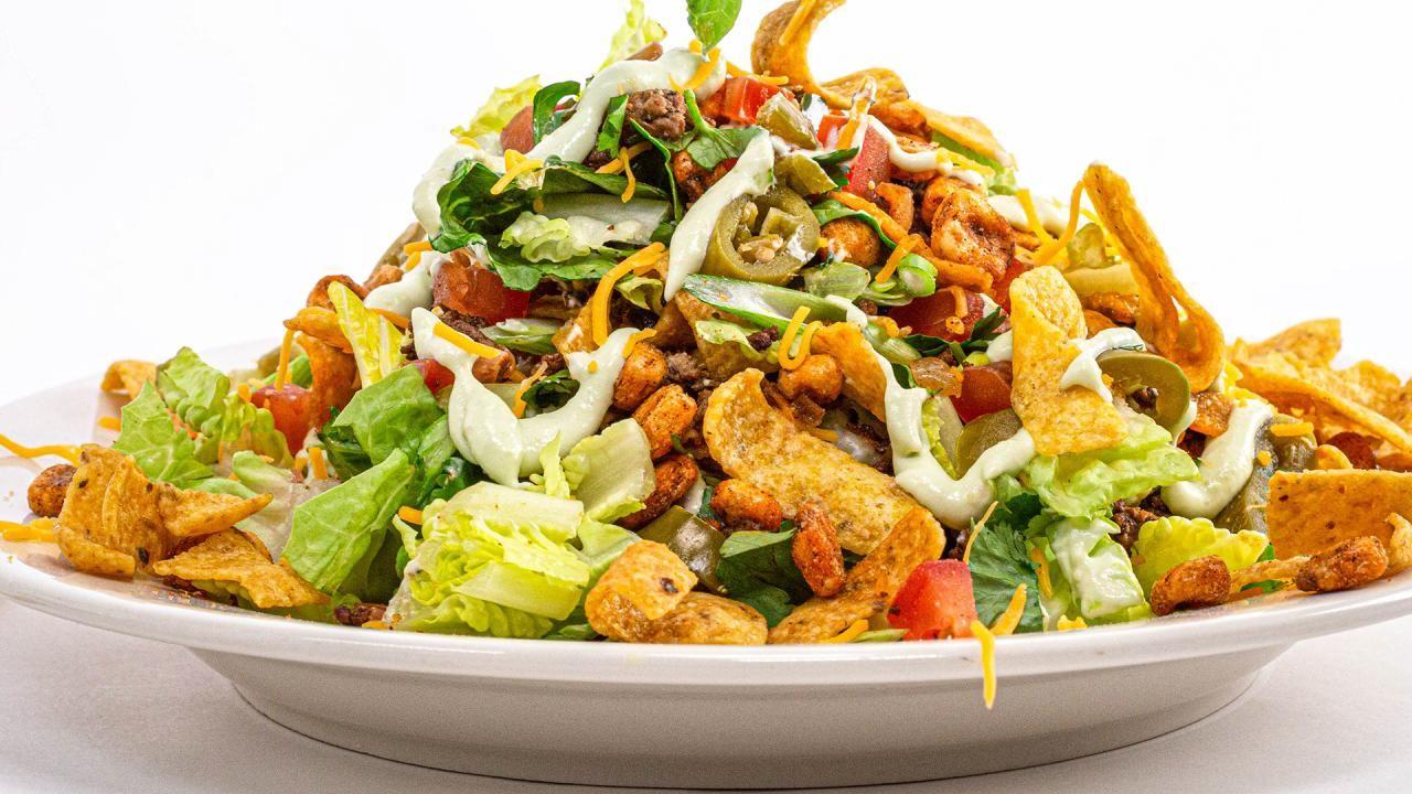 Taco Salad Recipe Made With Fritos