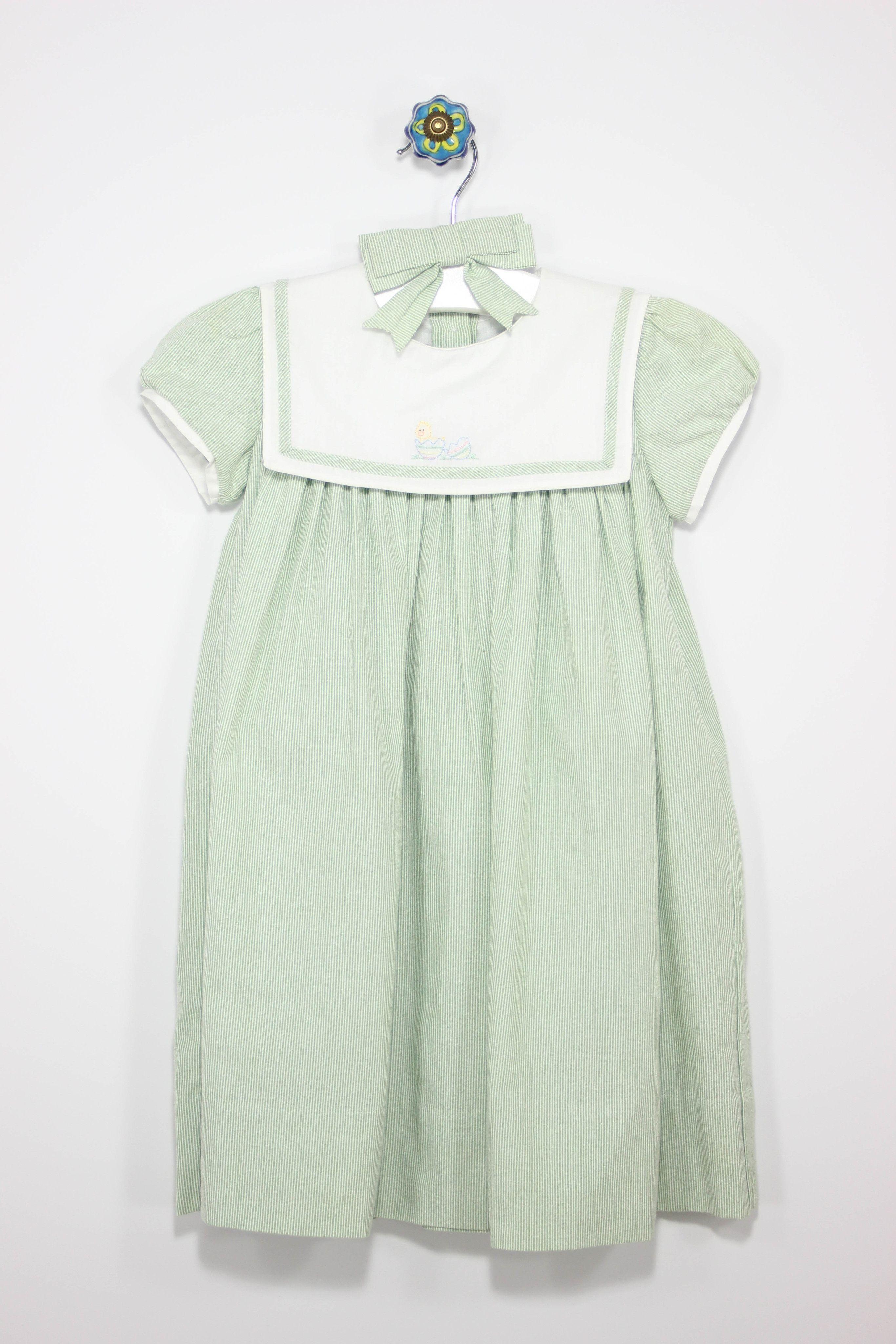 Strasburg Size 2T Party Dress + Hair Clip