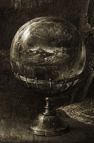 Strange  globe (detail)