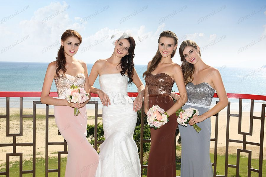 eDressit 2016 New Arrivals Strapless Sweetheart Elegant Bridesmaid Dress Fashion Evening Gown  Shop: www.eDressit.com