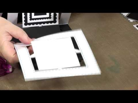 How to Make an Accordion Card - YouTube