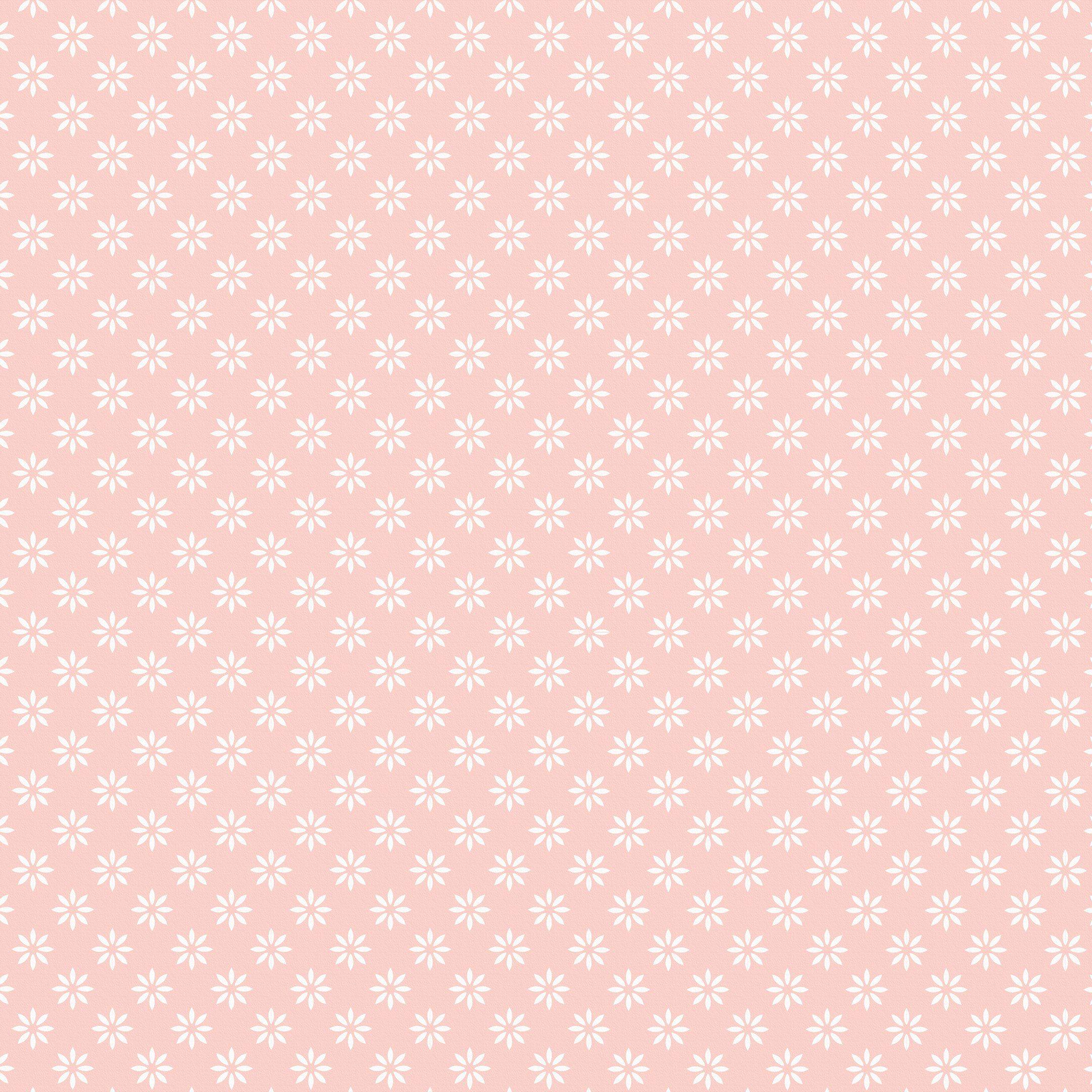 background flowers cute pastel illustration pink
