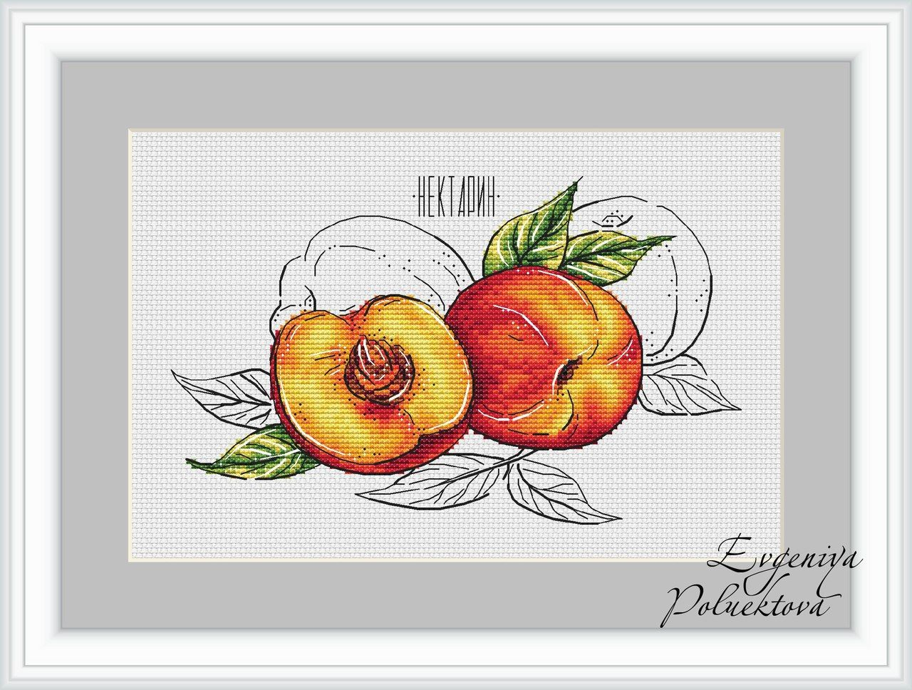 удобный эскизы картинок для вышивания фрукты был