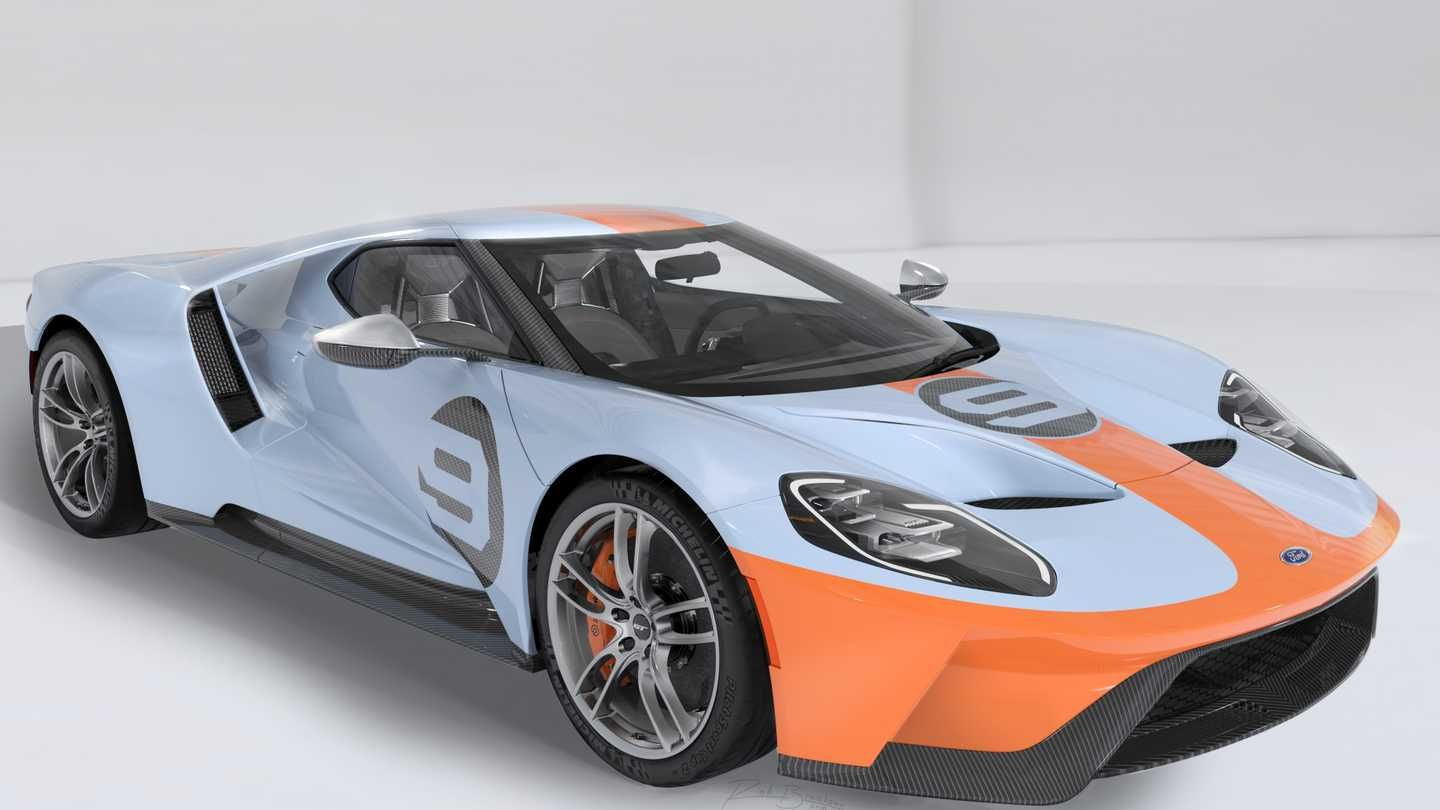 Petersen To Auction One Of The Last Public Allocations For A New Ford Gt For Teens Luxury Accessories Charger Classic For Girls Suv Ford Gt Ford Gt Gulf Ford Classic Cars