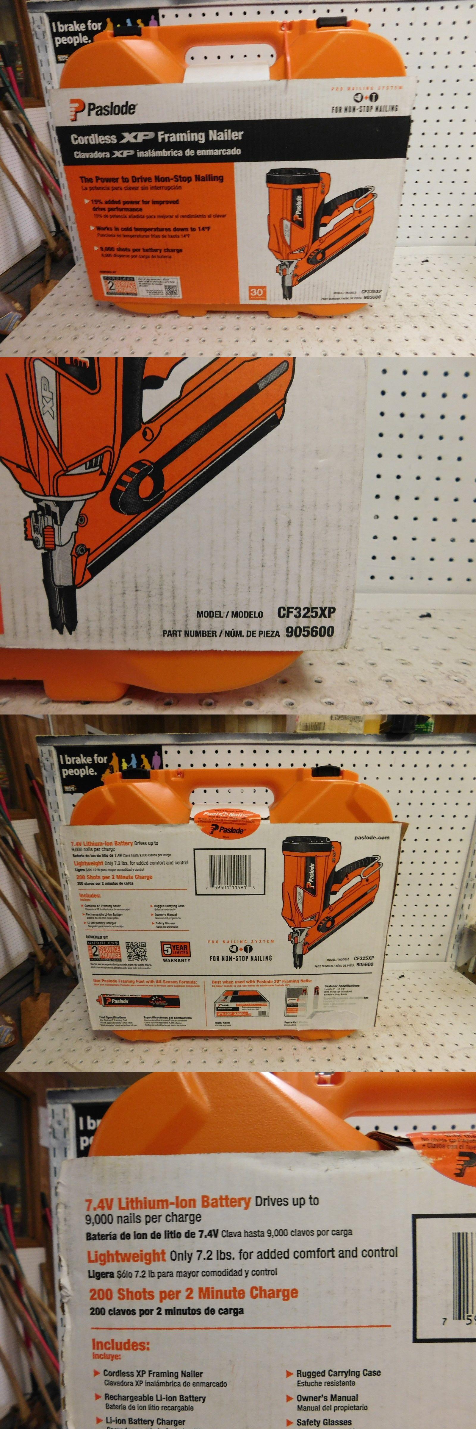 Nail and Staple Guns 122828: Paslode Li-Ion Cf325xp 30 Deg Cordless ...