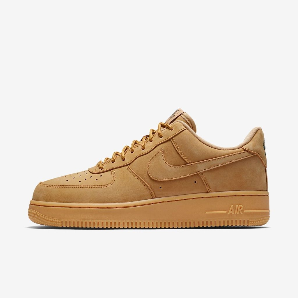 Men's Nike Air Force 1 '07 WB Shoes Fox Gum 12 NWT | Nike ...