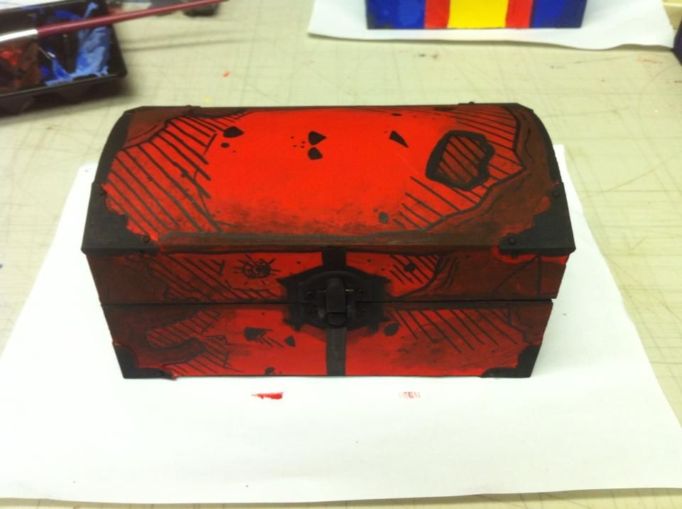DIY Borderlands Chest Video Game Crafts Video game