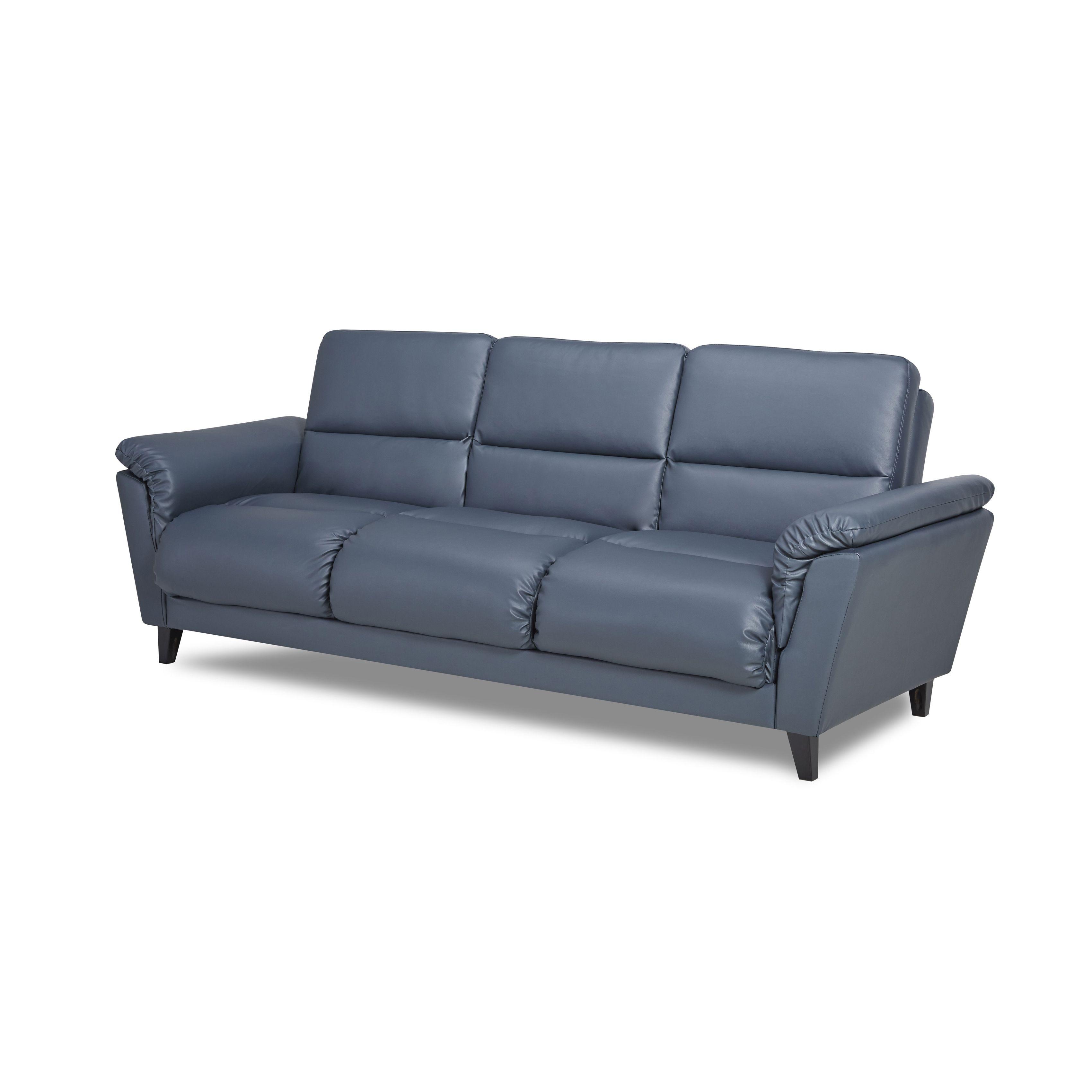 Gold Sparrow Richardson Smoke Convertible Sofa Bed