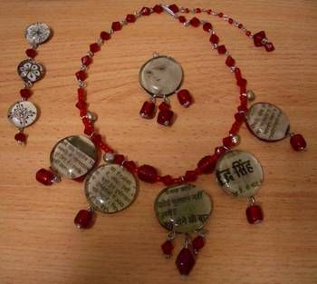 marble magnet inspired necklace (by first time poster) *added pics on page 3* - JEWELRY AND TRINKETS