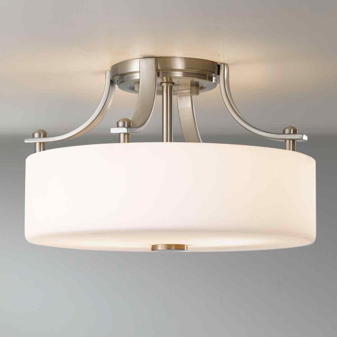 Ceiling Mounted Bathroom Light Fixtures