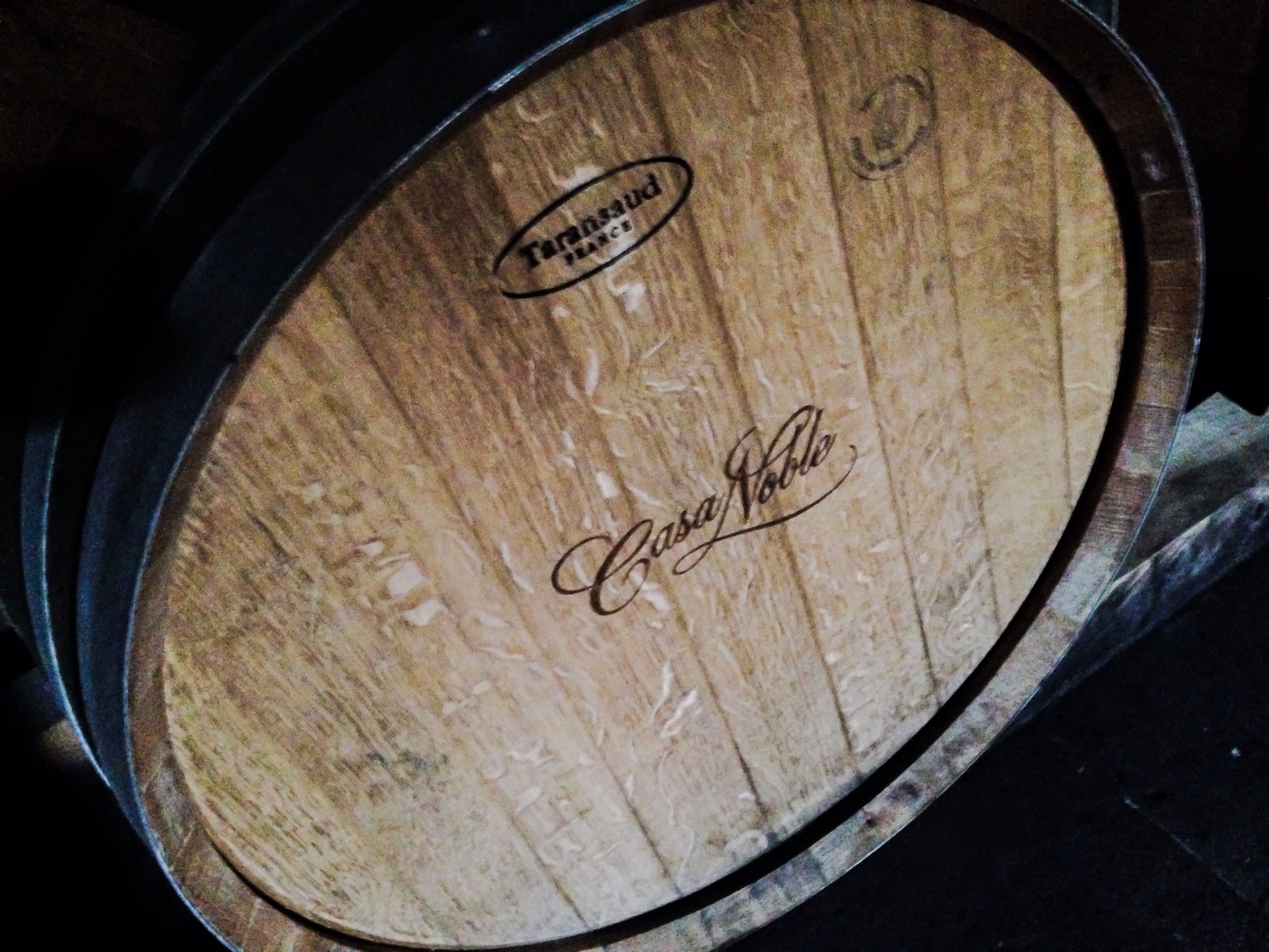 Amazing Taransaud tequila Barrels used exclusively by Casa Noble