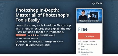 كورس Photoshop In Depth Master All Of Photoshop S Tools Easily مجانا برنامج فوتوشوب غني عن التعريف حيث تجد ان شعبيته متزايده Master Photoshop Photoshop Tools