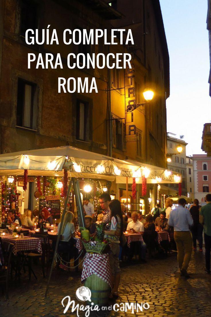 ¿Te vas de viaje a Roma? En esta guía podes encontrar información práctica para tu viaje por la ciudad, transporte, excursiones, movilidad, hoteles, sugerencia de itinerario, etcétera.  #italia #roma #viajararoma #guiadeviaje #romaenfamilia