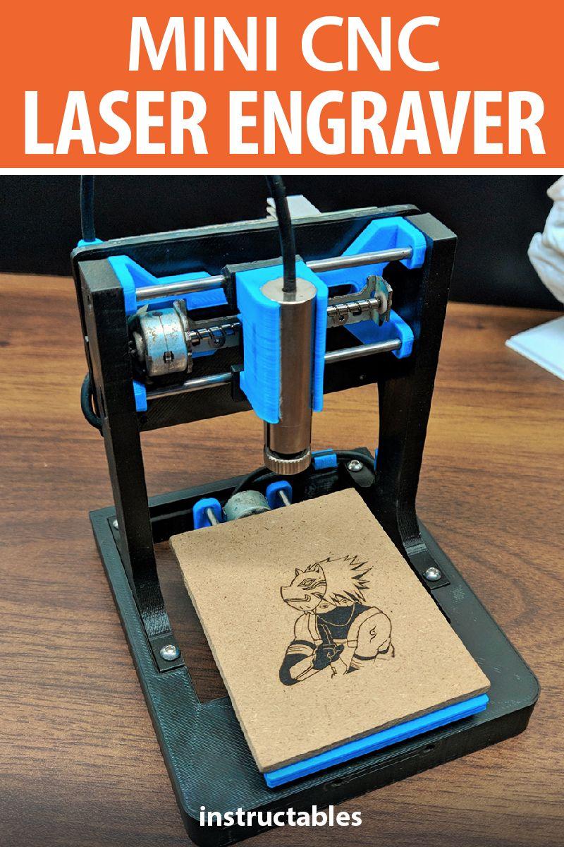DIY Mini CNC Laser Engraver    CNC   Diy cnc, Arduino cnc, Cnc