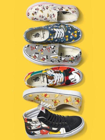 Vans bringt Disney Kollektion heraus | Disney shoes, Vans