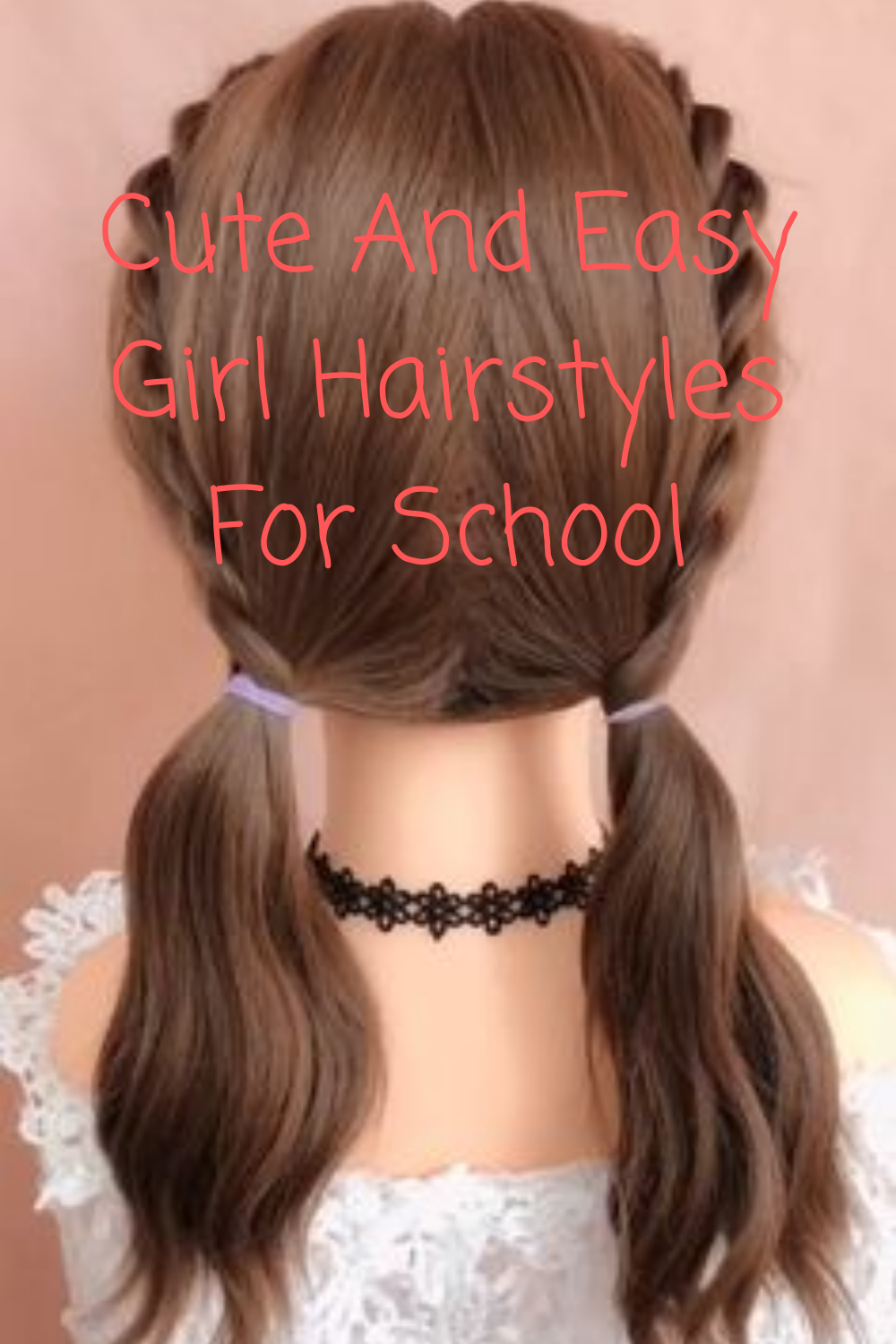 Cute And Easy Girl Hairstyles For School In 2020 Girls Hairstyles Easy Kids Hairstyles Girls Old Hairstyles